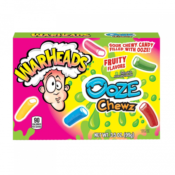 0052 warheads Sour Ooze Chews Theatre