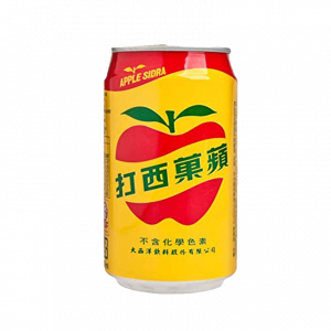 A can of Apple Sidra