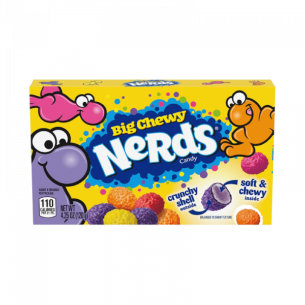 Nerds Big Chewy Theatre Boxes